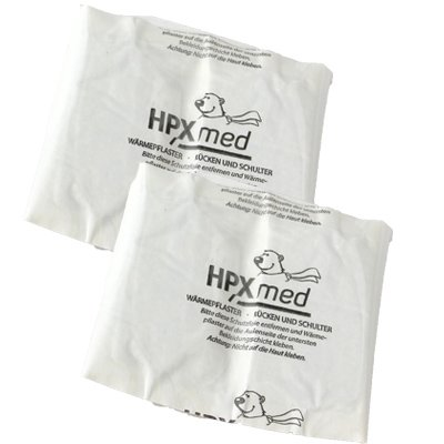 HPXmed 2 Heat Patches - Back and Shoulder